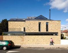 Love the clerestory and gable windows in this project in SW London