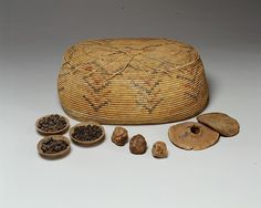 "Fruit Cake, ca. 1492–1473 B.C. From Egypt, Upper Egypt; Thebes, Sheikh Abd el-Qurna, Tomb of Hatnefer and Ramose (below TT 71), inside Basket ""C"", MMA 1935–1936. The Metropolitan Museum of Art, New York. Rogers Fund, 1936 (36.3.81)"