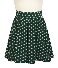 The retro-inspired polka dot print we all love is here in new and exciting colors for Trashy Diva's Irish Polka Collection! With cream dots and a green background, the Trashy Diva High-Waist Shorts are ladylike and perfect for warm weather! These retro-inspired shorts detail gathers at the waist, an invisible zipper on the left side seam, and a pocket on the right side seam. Pair the high-waist cut shorts with the Ashley Blouse or the Trixie Top in the matching Irish Polka print for a…