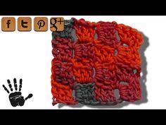 C2C Linkshänder Häkelmuster - © Woolpedia - YouTube