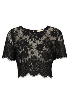 **Lace Crop by Goldie - Tops  - Clothing