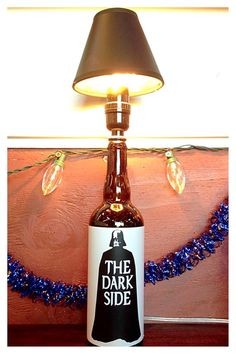 Hey, I found this really awesome Etsy listing at https://www.etsy.com/listing/216316765/darth-vader-beer-bottle-lamp