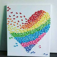 Easy and Fun Valentines Crafts for Kids to Make - Quilling Art Projects Valentine's Day Crafts For Kids, Mothers Day Crafts, Art For Kids, Kids Fun, Preschool Crafts, Fun Crafts, Arts And Crafts, Paper Crafts, Diy Quilling Crafts