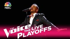 """The Voice 2017 Chris Blue - Live Playoffs: """"Love on the Brain"""" stfu this kid needs to win! hes insane good!"""