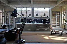industrial lofts | French By Design: An Industrial Loft on the Countryside!