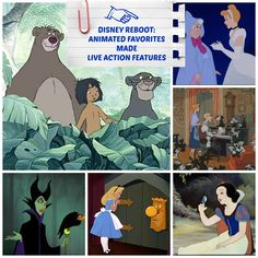 Disney Reboot: 6 Animated Favorites Made Live Action Features #Disney