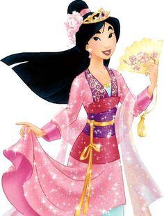 sexy Mulan   Princess Mulan - Disney Personalized Princess Birthday Iron On ...