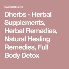 herbal medication information