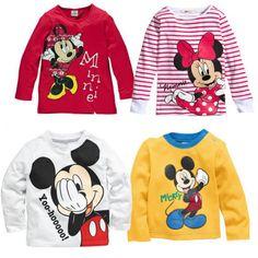 2015 Fashion Cartoon Baby Mouse Girls Boys Kids Long Sleeve Blouses Tops Shirt Hoodie-in Hoodies & Sweatshirts from **************************************** Ali: חולצת מעבר מתוקה של מיקי / מיני לילדים וילדות רק מ-14 ₪ + משלוח חינם!