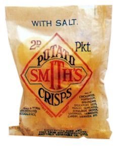 Good old - Smiths Potato Crisps, my mother worked at smiths crisps in the 1950''s