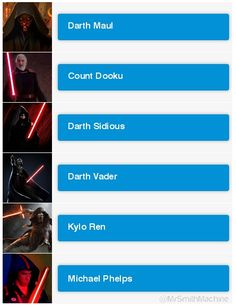 Who is your favourite Sith? Count Dooku, Michael Phelps, Darth Maul, Sith, Your Favorite, Memes, Sith Lord, Animal Jokes, Meme