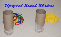 Upcycled Sound Shakers and Conservation Awareness #preschool #kindergarten