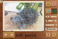 Pencil Camera HD: Live Sketch Effects For Photos & Videos On iPhone