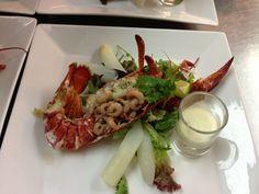 Lobster, Kreeft, bij De Bon Vivant in Apeldoorn.