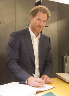 Prince Harry from The Big Picture: Today's Hot Pics The royal visits the Nelson Mandela Foundation Centre in Johannesburg.