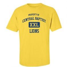 Central Baptist School - Hattiesburg, MS | Men's T-Shirts Start at $21.97