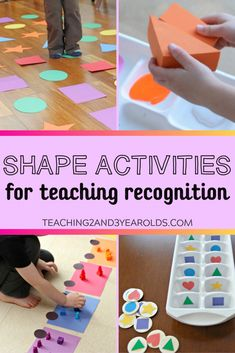 How to Teach Shape Recognition to Preschoolers