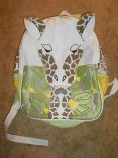 Planet Earth Giraffe Backpack