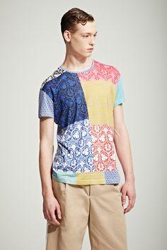 Jonathan Saunders Spring 2012 Menswear Fashion Show