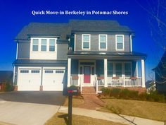 Just listed in Potomac Shores. It's a Berkeley Model for immediate delivery. Listed for only $664,900!