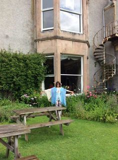 Anjo da Abertura acompanhará a Patrícia Pinna esta semana em Findhorn.  #DCfindhornEUVIM #destinocolaborativo