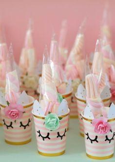 Diy Unicorn Birthday Party, Birthday Treats, Birthday Party Themes, Party Snacks, Party Favors, Diy Birthday Decorations, First Birthdays, Candy, School