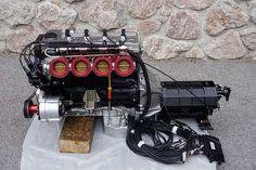 opel cih 24v | Kompletter Rennmotor Opel CIH/16V Zahnriementrieb mir Elektronik und ...