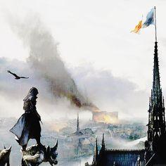 Arno Dorian, Assassins Creed Unity, Assassin's Creed, Statue Of Liberty, Concept Art, Batman, Community, Mountains, Superhero