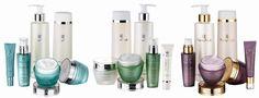 NovAge ihonhoito-setit vasemmalta: True Perfection, Ecollagen, Ultimate Lift #NovAge #Oriflame #skincare #ihonhoito