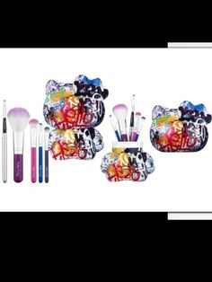 Hello kitty make-up container!