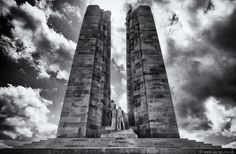 Monument at Vimy Ridge, France - Jacqueline Allott Photography www.jacqs.co.uk Fashion & Glamour Portraiture, Sheffield, Yorkshire, England