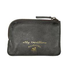 Ally Capellino Tino Small Zip Wallet (Navy)