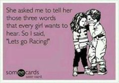 Let's go racing