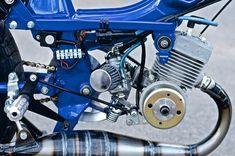 Motobecane Moby 50V Moped Rich Vintage Moped Builds