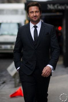 NYC Fashion Week - Gerard Butler attends Hugo Boss Woman Event 02/12/14