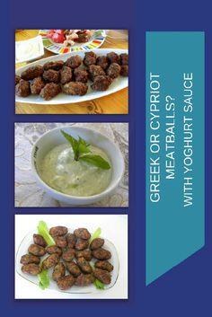 Cypriot Meatballs Beet And Goat Cheese, Goat Cheese Salad, Greek Appetizers, Healthy Appetizers, Greek Meatballs, Greek Sauce, Toasted Pumpkin Seeds, Greek Cooking, Europe