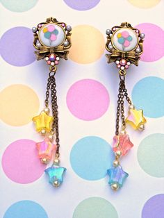 Balloon Pastel Plugs | So cute, reminds me of my baby earrings