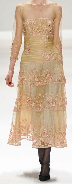 lace...dress ,,beige