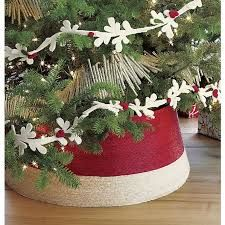 Love the idea of a tree in a basket instead of wrapping with a tree skirt