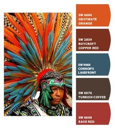 ColorSnap is a color tool that lets you instantly turn any picture into a color palette pulled from more than Sherwin-Williams paint colors. Paint Color Schemes, Colour Pallette, Color Palate, Color Combos, Bedroom Paint Colors, Wall Colors, House Colors, Southwestern Decorating, Southwest Decor