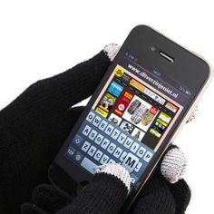iGloves Touchscreen Handshoenen - Zwart Kids bij Ditverzinjeniet.nl, € 4,95