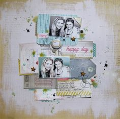 scrapbook page by Gina Rodgers @ shimelle.com