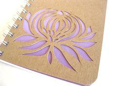 Nature Inspired Sketchbook Lavender Purple Ombre by thenaturewalk, $14.00