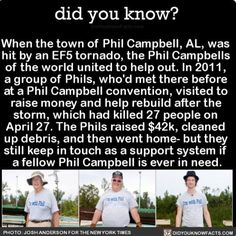 Not all heroes wear capes but their name is Phil Campbell.  #amazing #philcampbell #tornado #weather Download our free App: [LINK IN BIO]