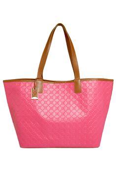 Bolsa Capodarte Shopper Rosa - Marca Capodarte