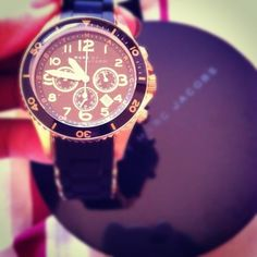 Marc by Marc Jacobs Metal Rock Chrono Bracelet Watch, just wooow