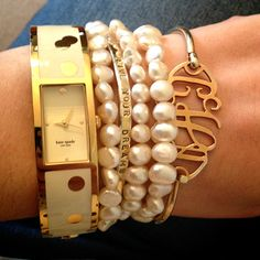 How to Stack Bracelets Tastefully: College Prep