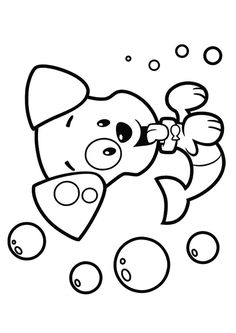 free bubble guppies coloring pages nonny enjoy coloring