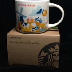 Starbucks Netherlands YAH Mug Windmill Bicycle Canal Coffee Cup You Are Here New | Collectibles, Advertising, Food & Beverage | eBay!