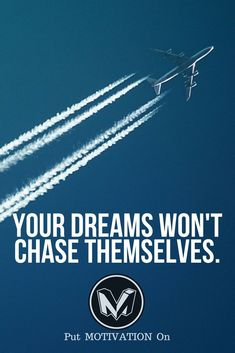 Chase your dreams. Follow all our motivational and inspirational quotes. Follow the link to Get our Motivational and Inspirational Apparel and Home Décor. #quote #quotes #qotd #quoteoftheday #motivation #inspiredaily #inspiration #entrepreneurship #goals #dreams #hustle #grind #successquotes #businessquotes #lifestyle #success #fitness #businessman #businessWoman #Inspirational